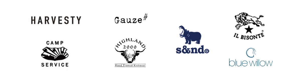 HARVESTY,Gauze#,CAMP SERVICE,HIGHLAND2000,IL BISONTE,s&nd,blue willow